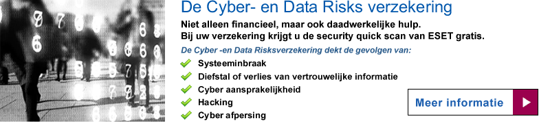 Cyber- en Data Risksverzekering